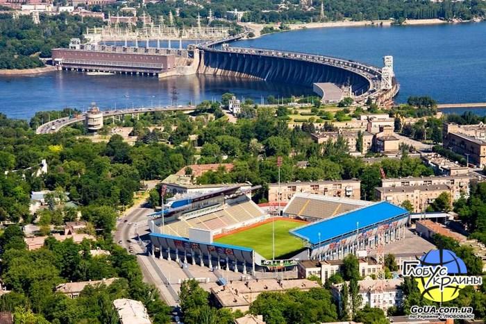 стадион славутич арена запорожье экскурсия