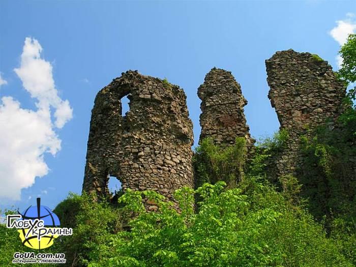 хуст хустский замок экскурсия из Запорожья глобус украины