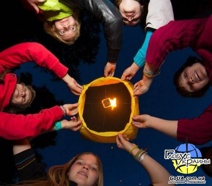 фонарики любви глобус украины