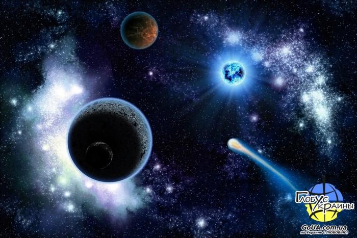 галактика планетарий