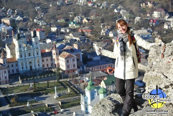 глобус украины гора бона кременец крепость