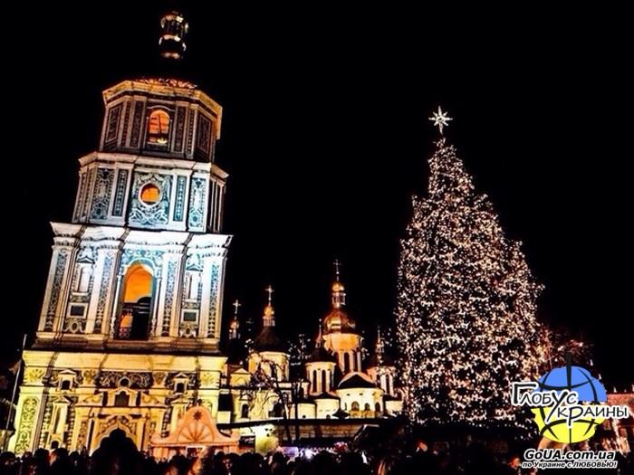 киев новогодняя елка
