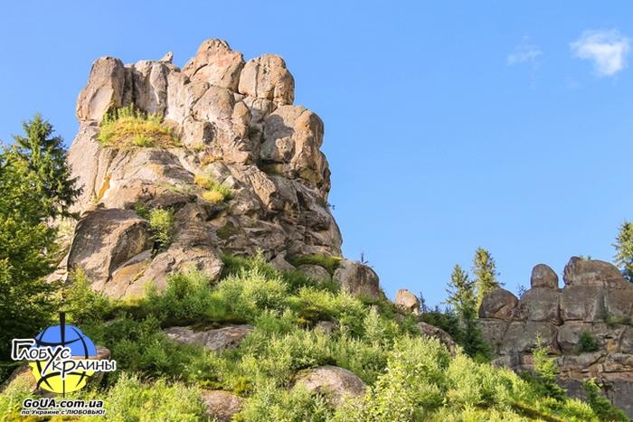 скалы довбуша западная украина глобус украины экскурсия