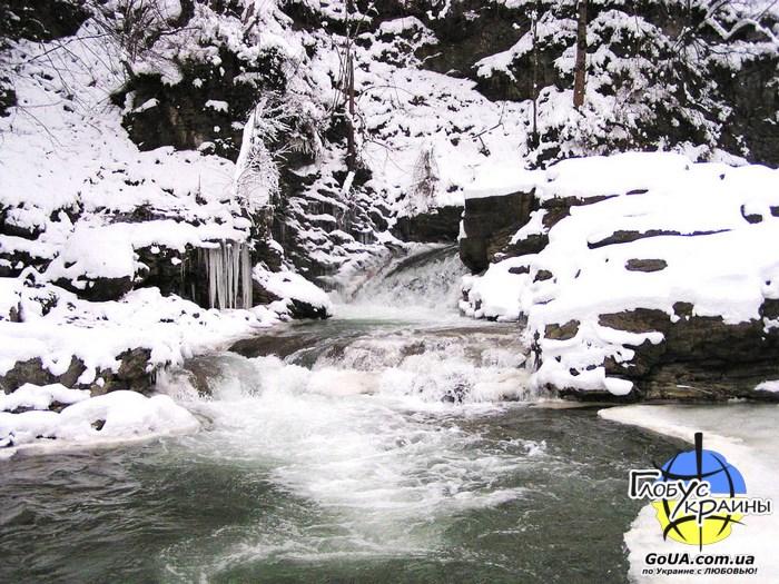 шешоры водопады