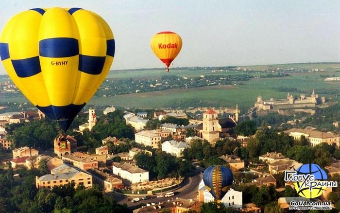 Каменец-Подольский, фестиваль воздушных шаров