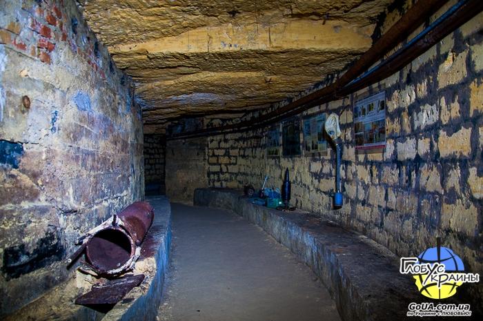 катакомбы экскурсия одесса глобус украины
