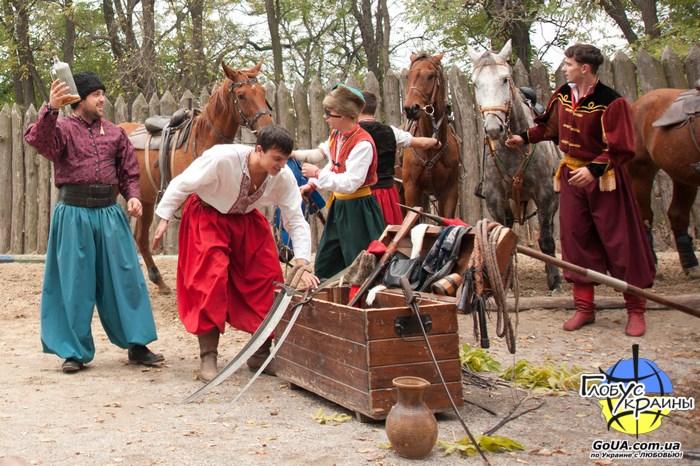 конный театр хортица
