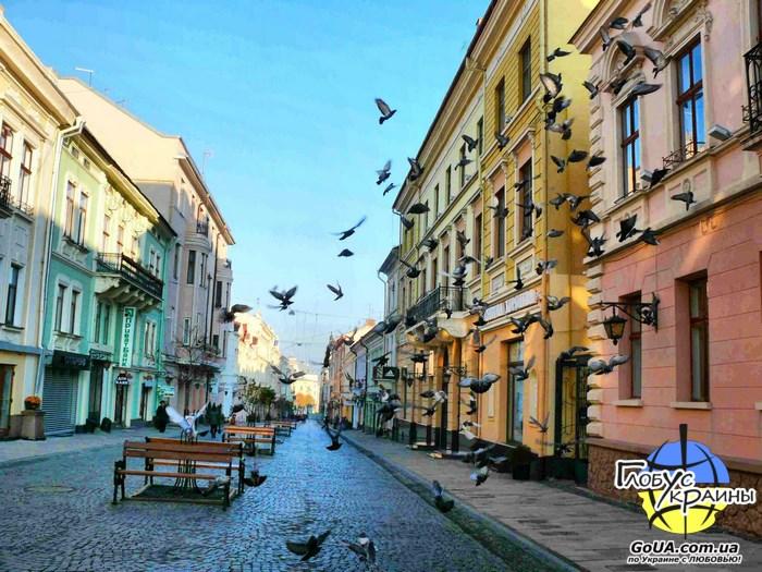 Черновцы, пешеходная улица