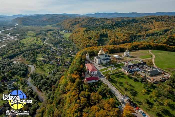 гошевский монастырь западная украина экскурсия из запорожья глобус украины