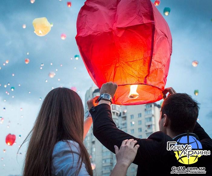 фонарики любви